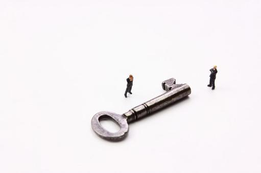 미니어처 사업가 열쇠