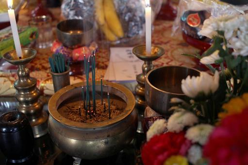 Bon Festival _ incense incense