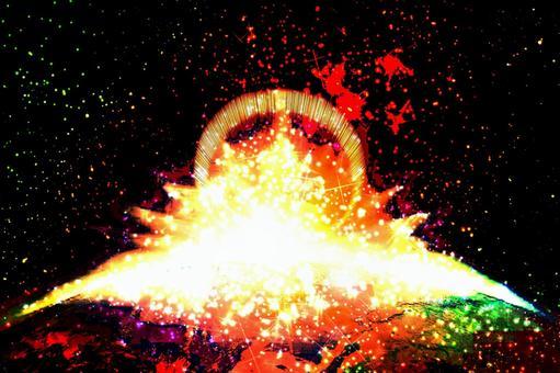 빛의 대폭발 텍스처
