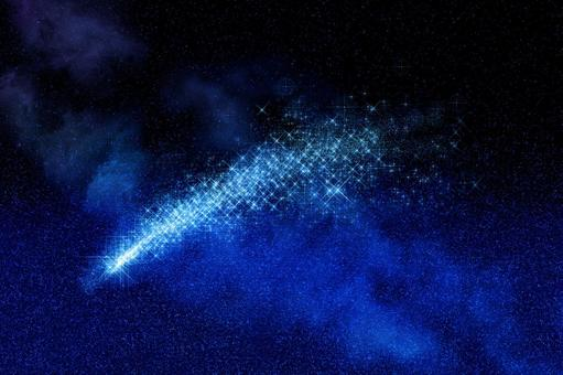 流星夜空|星空背景素材
