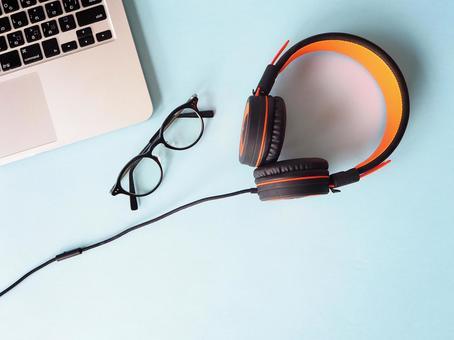 Glasses PC Headphones