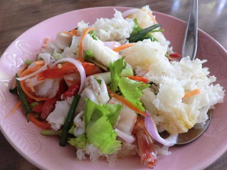 泰國菜山藥皮重