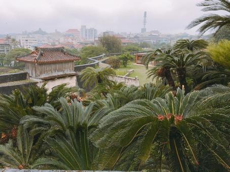 Scenery from Okinawa Shuri Castle
