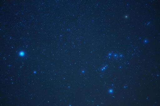 Orion and Sirius