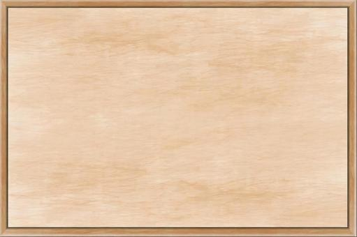 Wallpaper with easy-to-use versatile background wood panel frame