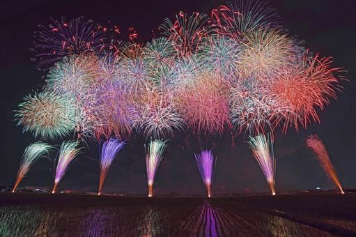 Tamamura Fireworks Festival