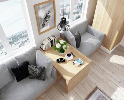 Room with sofa 2