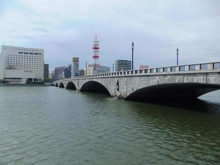 Bandai bridge # 3 taken from the southeastern side
