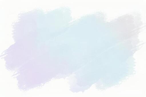 하늘색과 보라색 물감
