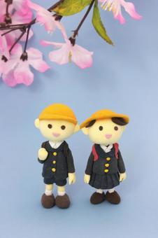 樱花,小学生1