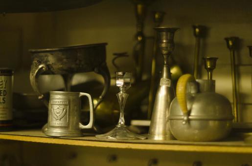 Antique tableware 2