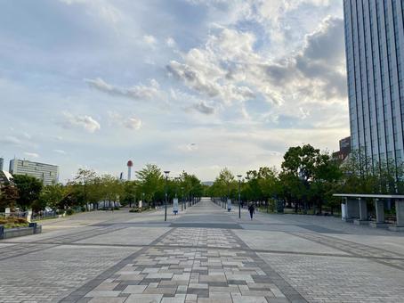 Scenery of Daiba, Minato-ku