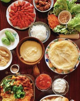 치즈 퐁듀 & 크레페 파티 마마友