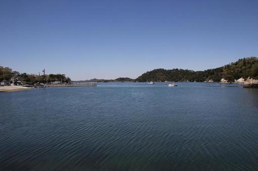 안쪽 송도 바다 마쓰시마
