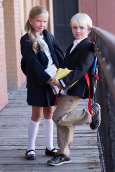 外国男孩和女孩3