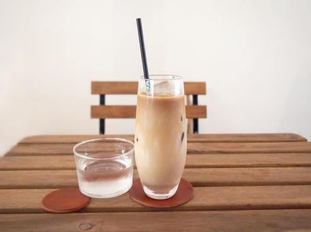 Ice cafe au lait. 06