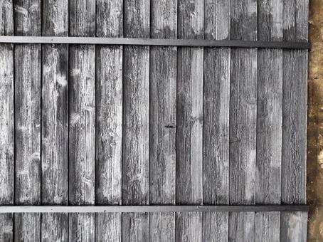 Textured wall wooden board wall