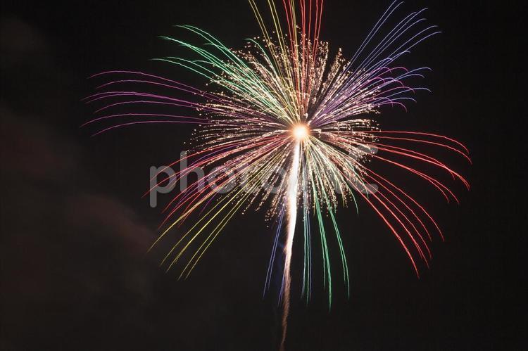 大きな打ち上げ花火5の写真