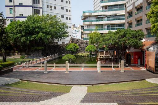 台湾台南観光地-呉園藝文中心