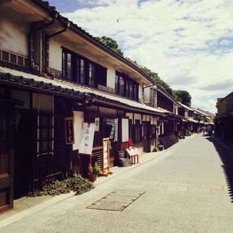 倉敷美坎地區的城市景觀