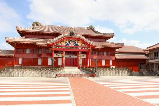 Shuri Castle.