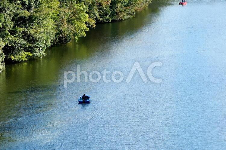 バス釣りの写真