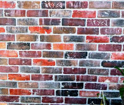 Background material_texture_red brick outer wall