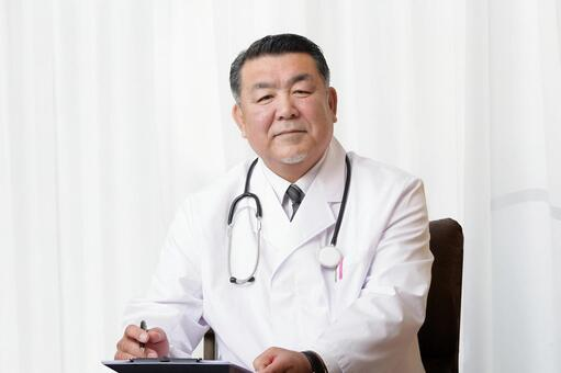 Doctor doctor white coat examination