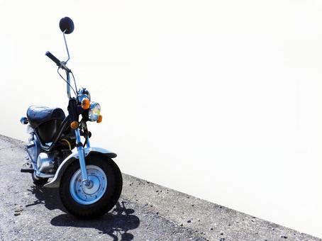 Retro moped bike