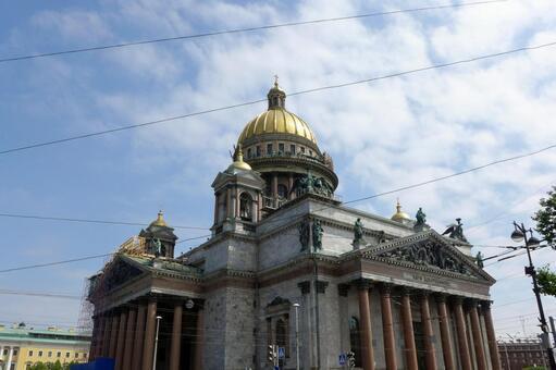 러시아 성 이사악 성당