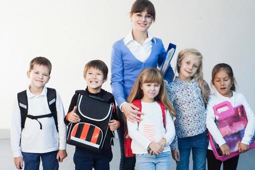 老师和小学生7
