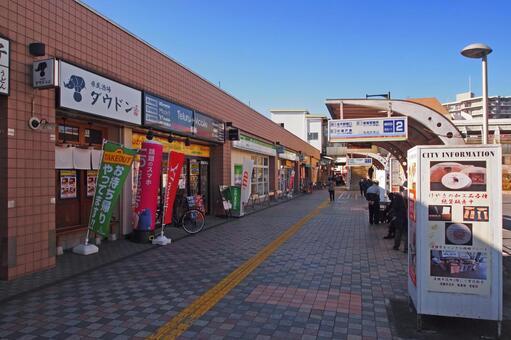 西武鐵道清瀨站北口