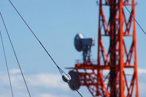 Wires and towers