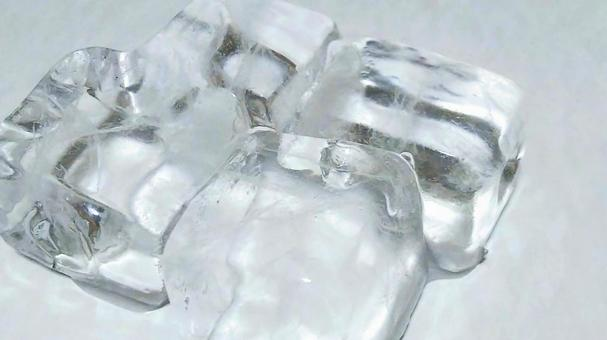 Placed ice 2 (white)