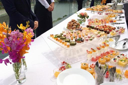 Sweets buffet 1