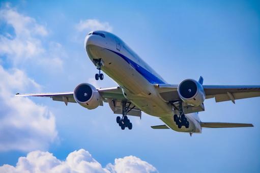Flight aircraft B777