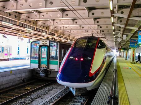 奥羽本線 新庄駅