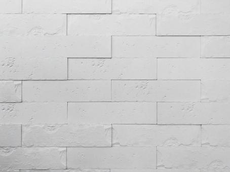 Fashionable white brick tile