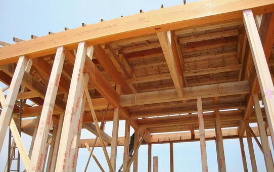 목조 주택 건설 현장 8