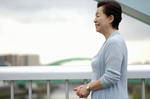 Senior woman with a smile 4