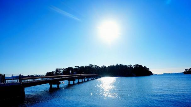 Fukuura Bridge 2 to Matsushima and Fukuura Island