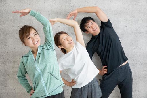 Radio gymnastics