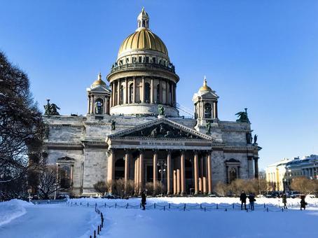 성 이사악 성당 (러시아 상트 페테르부르크)