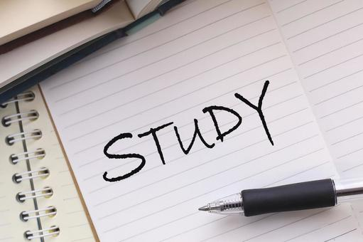 Studying STUDY notebook image material