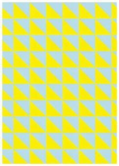 Texture of geometric pattern Triangle yellow