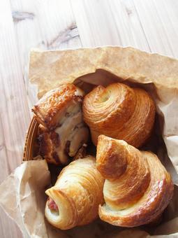 Various croissants