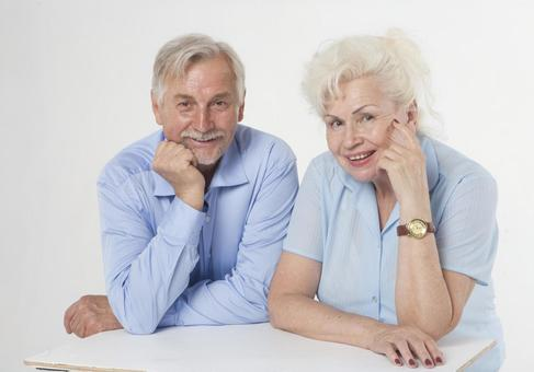 Foreigner senior couple 22