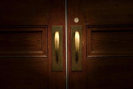문을 열고