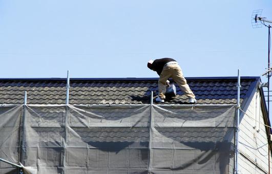 지붕 도장 공사 07