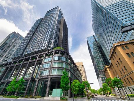 Tokyo Station Marunouchi South Exit Office District
